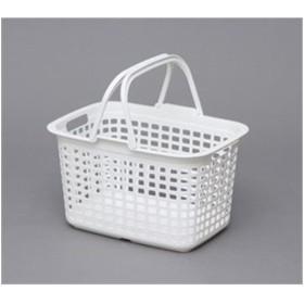 アイリスオーヤマ ランドリーバスケット ピュアホワイト LB-M