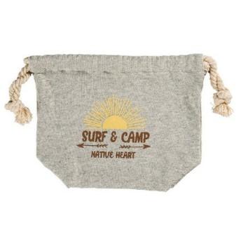 正和 NH SURF&CAMP 巾着袋 グレー
