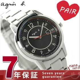 アニエスベー 時計 レディース ソーラー カレンダー FBSD959 agnes b. マルセイユ ブラック 腕時計