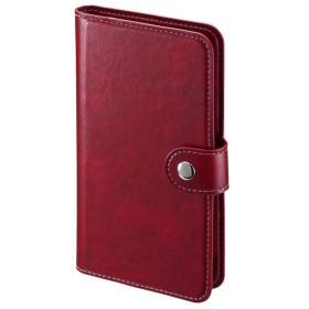 サンワサプライ 手帳型スマートフォンケース Mサイズ PDA-SPC30R 代引不可