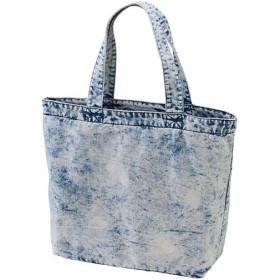 ユナイテッドアスレ(UnitedAthle) デニムラージトートバッグ ケミカルウォッシュデニム ケミカルウォッシュデニ Fサイズ 397101C 585 デニムバッグ バッグ 鞄