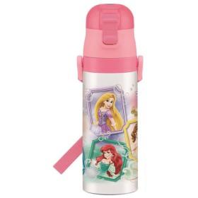 水筒 ステンレス おしゃれ 子ども 直飲み 保冷 子供 キャラクター 軽量 超軽量 マグ ボトル タンブラー ダイレクトボトル プリンセス17 SDC4