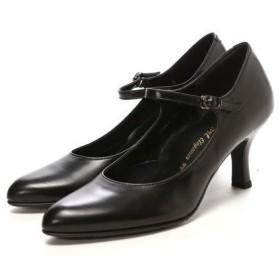 ビューフォートエレガンス BeauFort elegance EEウイズウォーキングパンプス(ブラック)