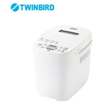 ツインバード ホームベーカリー PY-E635W ホワイト 1.5斤 1斤