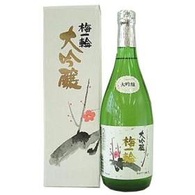 日本酒 日本酒 超特撰 梅一輪 大吟醸 カートン付き 720ml