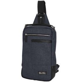 プレムエディター(PREM-EDITOR) 杢ポリ ボディバッグ ブラック 02765 通勤通学 バッグ 鞄 カジュアル バック