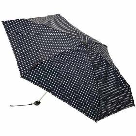 クニルプス(Knirps) 折りたたみ傘 (手開き) Travel Navy Dot KNA815 レイン 梅雨 台風 かさ UV