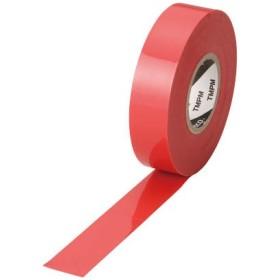 TRUSCO プレミアムビニールテープ 19mmX20m 赤 TMPM1920R テープ用品・絶縁テープ