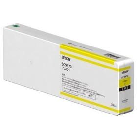 【在庫目安:お取り寄せ】EPSON  SC9Y70 SureColor用 インクカートリッジ/ 700ml(イエロー)