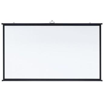 プロジェクタースクリーン 80インチ ワイド 壁掛け 吊り下げ 巻き取り モバイル 16:9 PRS-KBHD80 サンワサプライ ネコポス非対応