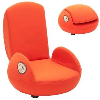 plimin エアースリム スカーレットオレンジ 骨盤矯正 骨盤補正 骨盤チェア 座椅子 マッサージチェア プリミン コニー