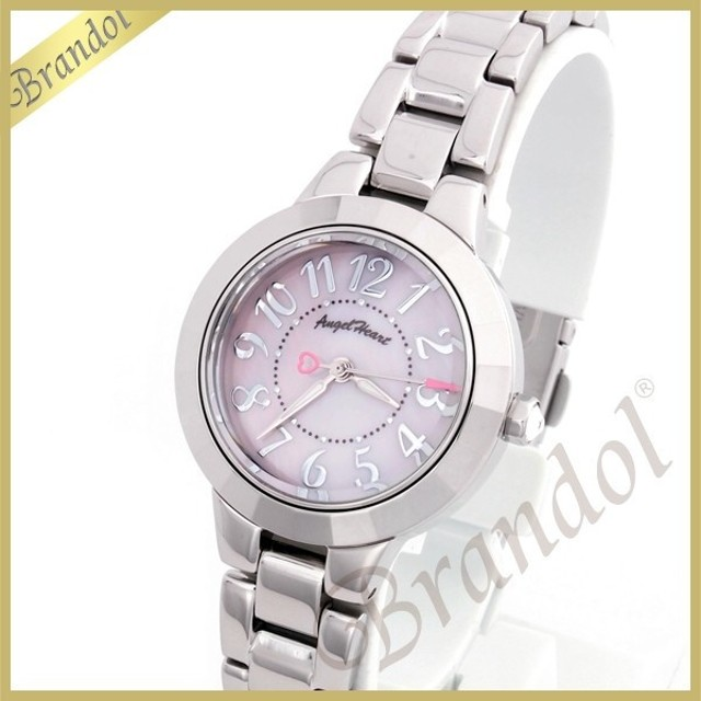 エンジェルハート Angel Heart レディース腕時計 ラブスポーツ 27mm ピンクパール×シルバー WL27PM