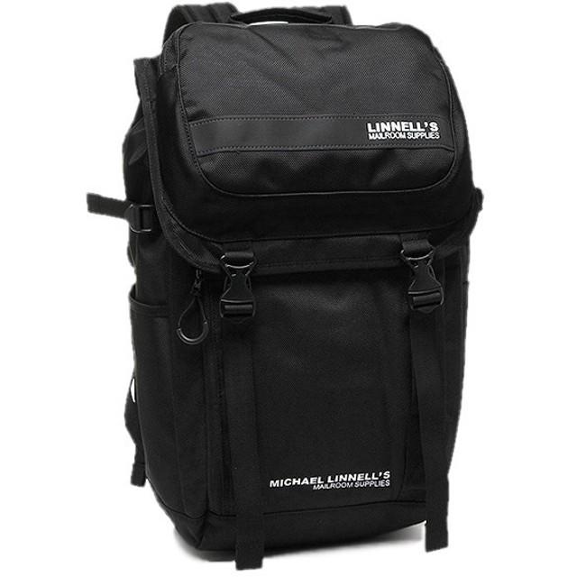 【返品OK】 マイケルリンネル リュック MICHAEL LINNELL ML-018 約27L ブラック