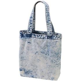 ユナイテッドアスレ(UnitedAthle) デニムトートバッグ ケミカルウォッシュデニム ケミカルウォッシュデニ Fサイズ 397001C 585 デニムバッグ バッグ 鞄 カバン