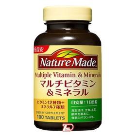 ネイチャーメイド マルチビタミン&ミネラル (サプリメント) 100粒 大塚製薬