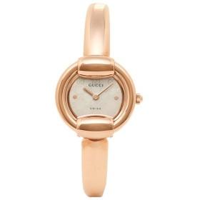 【5/19限定 エントリーでP15】 グッチ GUCCI 時計 腕時計 グッチ 時計 レディース GUCCI YA014519 1400シリーズ 腕時計 ウォッチ ホワイトパール/ピンクゴールド