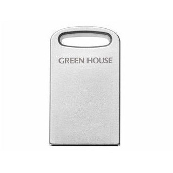GREEN HOUSE/グリーンハウス GH-UF3MB16G-SV 小型USB3.1メモリー 16GB シルバー