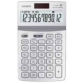 カシオ デザイン電卓 JF-Z200-WE-N