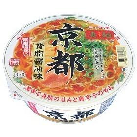 ニュータッチ 凄麺 京都背脂醤油味 124g×1ケース(12個)(012)