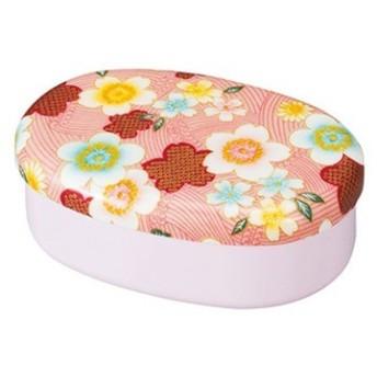 たつみや 加賀桜 布貼小判 1段 ピンク