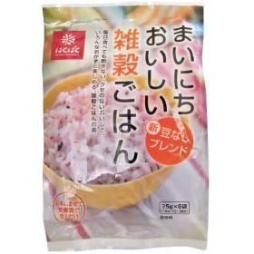 [はくばく]まいにちおいしい雑穀ごはん 25g×6袋
