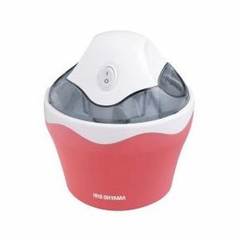 アイリスオーヤマ アイスクリームメーカー バニラストロベリー ICM-01 家電 キッチン家電 その他調理家電