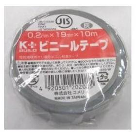 K+ ビニールテープ 灰 19mm×10m