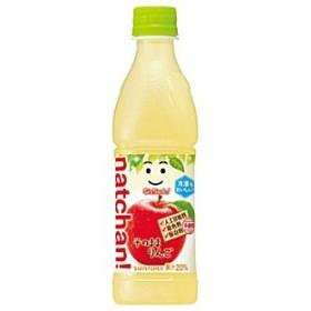 サントリー なっちゃん りんご 425mlPET 24本入 (果汁飲料)