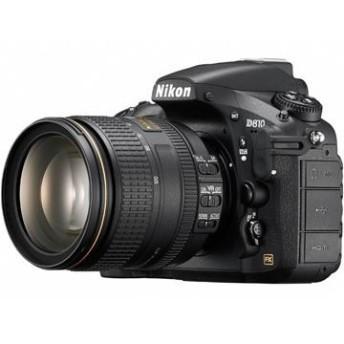 ニコン <D>Nikon デジタル一眼レフカメラ D810・24-120 VR レンズキット(3635万画素/ブラック) D810LK24-120 代引不可