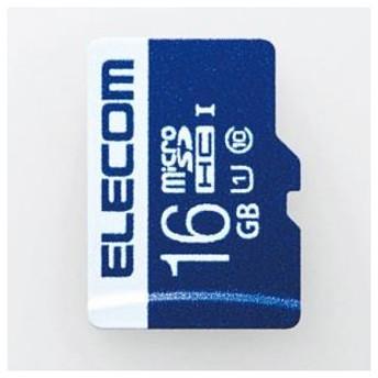 エレコム MF-MS016GU11R データ復旧microSDHCカード(UHS-I U1) 16GB