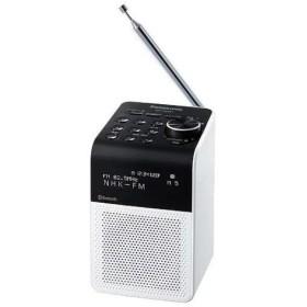 パナソニック RF-200BT(ホワイト) FM/AM 2バンドラジオ