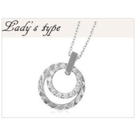 with me. /ウィズミー  Likoペアネックレス Lady's 【95-2956】【ペア】