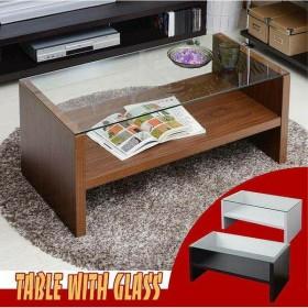 テーブル ガラスセンターテーブル TAG-0001(代引不可)