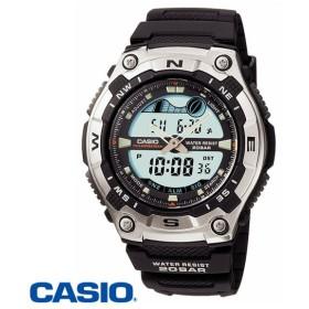 カシオ アナデジ腕時計 AQW-100-1AJF メンズ(正規品)
