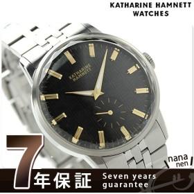 10%割引クーポンが使える! キャサリン ハムネット 日本製 スモールセコンド KH20F7B34 メンズ 腕時計 カッティングエッジ メタルブレスレット