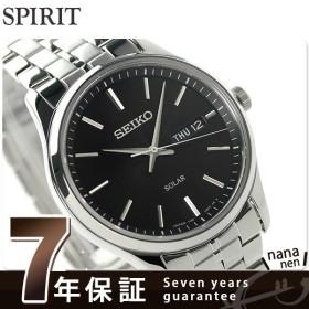 本日さらに+5倍でポイント最大26倍! セイコー 腕時計 メンズ ソーラー SBPX069 SEIKO ブラック