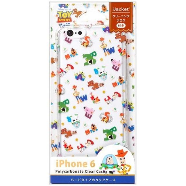 PGA iPhone6 ポリカーボネイトクリアケース トイストーリー PG-DCS854TOY