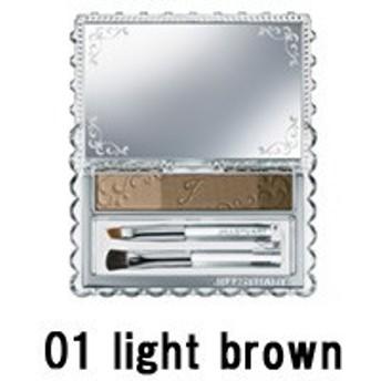 ジルスチュアート アイブロウパウダー 01 light brown - 定形外送料無料 -wp