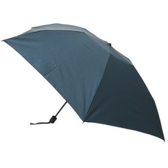 東急ハンズ 送料無料 hands+ 17 超撥水折りたたみ傘 50cm ターコイズボーダー