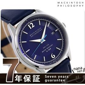 マッキントッシュフィロソフィー 時計 ソーラー メンズ 腕時計 FBZD990 ネイビー