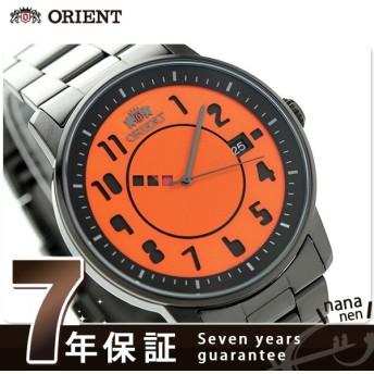 31日まで!さらに+24倍でポイント最大34倍 オリエント 自動巻き メンズ 腕時計 WV0851ER スタイリッシュ&スマート ディスク タイポグラフィ