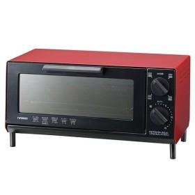 ツインバード オーブントースター レッド TS4035 R