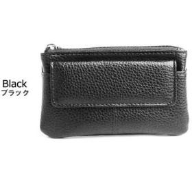 ポーム メンズ 小銭入れ コインケース フラップポケット付 NDS-001 ブラック