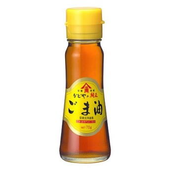 かどや 金印純正ごま油瓶 70g