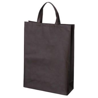 サンナップ 不織布バッグ 中 マチ付き 10枚 ブラウン 1 パック FBH-45BR 文房具 オフィス 用品