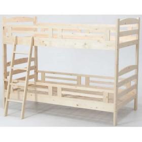 木製2段ベッド ロックス ナチュラル