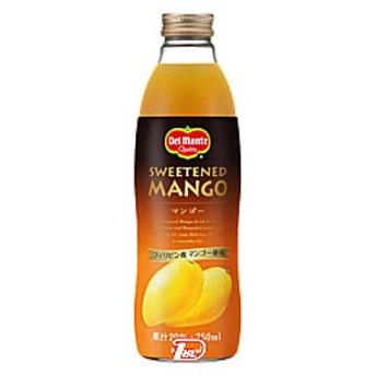 デルモンテ マンゴー キッコーマン 750ml 瓶 6本入×2
