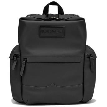 ハンター(HUNTER) オリジナル ラバー レザー バックパック BLACK UBB2022LRS 鞄 バッグ リュック ザック デイパック