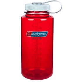 NALGENE ナルゲン 広口1.0Lアウトドアレッド 91182 水筒 アウトドア 釣り 旅行用品 キャンプ ボトル 樹脂製ボトル アウトドアギア