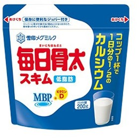 【あすつく】日本ミルク 毎日骨太MBPスキムミルク 200G